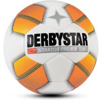 Derbystar Trainingsball STRATOS PRO TT  weiß/orange